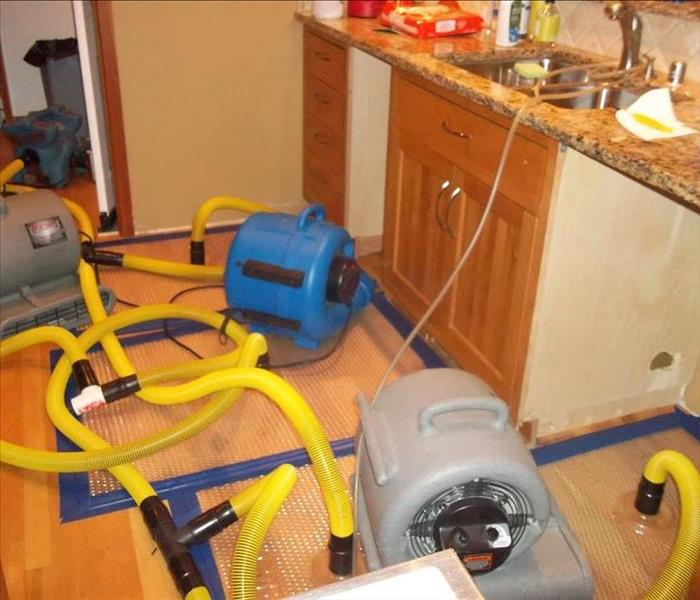 Water Damage SERVPRO Utilizes Many Pieces of Equipment for the Extraction of Water in Mountain Home Properties